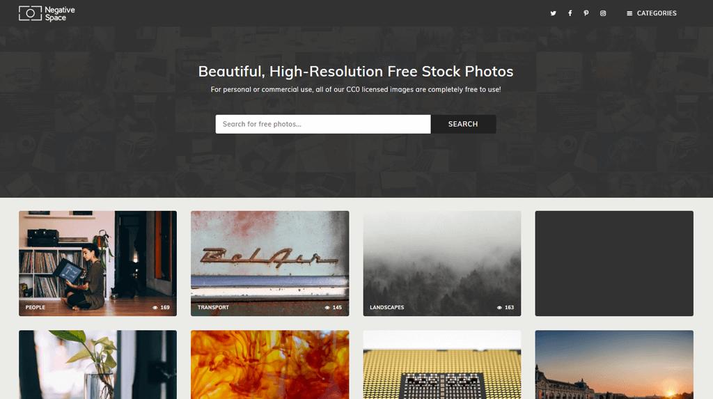 ¿Cómo encuentro imágenes gratis sin copyright? - Imagenes gratis en negative space 6